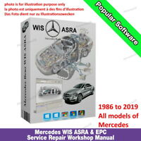 MERCEDES BENZ SMART WIS 🌟 ASRA 🌟 EPC Service Repair Workshop Manual 1986-2019