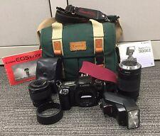 Canon EOS 1000F camera, Sigma 29-80mm Macro and EF 75-300mm ultrasonic lenses?