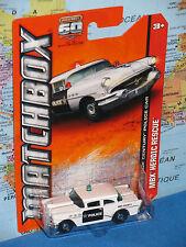 MATCHBOX 60th ANNIVERSARY 1956 BUICK CENTURY 56 POLICE CAR #18/120 *BRAND NEW*