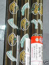 "NFL ""Jacksonville Jaguars"" Wrapping Paper (4 rolls) NEW"