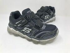 *New! Boy's (Little Kid) Skechers 95104 Skech-Air Turbo Rush - Gray/Gray A50