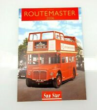 CATALOGUE SUN STAR BUS ROUTEMASTER 2006 1/24 SCALE