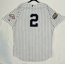 Authentic Majestic SIZE 60 4XL, NEW YORK YANKEES, DEREK JETER, 2003 WS Jersey