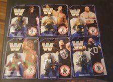 WWE WWF Mattel Retro Hasbro Series  *Warrior  Undertaker* Cena * Owens Set of 6!