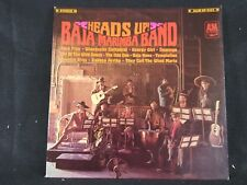 Baja Marimba Band ‎– Heads Up! A&M Records A&M 123 1967 Vinyl LP