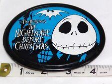 Official Disney Nightmare Before Christmas Plaque Jack Skellington Belt Buckle