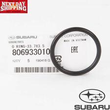 Subaru BRZ Ascent Baja Crosstrek Legacy Outback O-Ring Genuine OEM 806933010