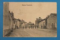 France Marne 51 AK CPA Selles 1916 Rue Maisons Village Soldaten Uniformen 1. WK