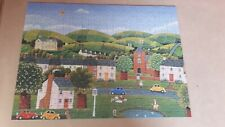 Hestair Puzzles, 500 Piece Jigsaw Puzzle The Village Green