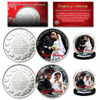 PRINCE HARRY & MEGHAN MARKLE Official Royal Wedding Photos RCM 2-Coin Set