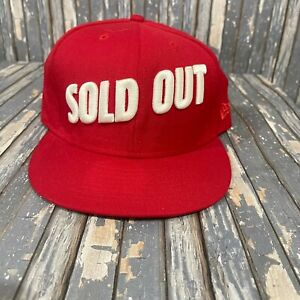 New Era Sold Out Snapback Wool Hat