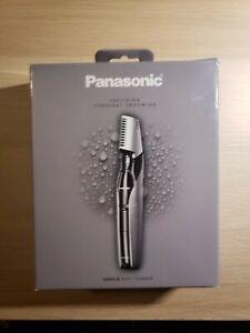 New Panasonic Electronic Body Hair Trimmer Personal Groomer ER-GK60-s, Cordless