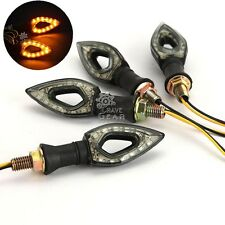 4x Universal Turn Signals Indicator For Honda CB 250 450 650 700 750 Nighthawk