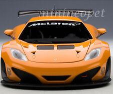 1/18 Autoart Mp4-12c Gt3 Presentación Car Metálico Naranja