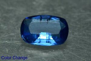 0.90 Carat Transparent Fluorescent Color Change Tenebrescent Scapolite Gemstone
