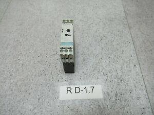 Siemens 3RP1525-1AP30 Multifunción Temporizador 1s bis100h Bobina 24 Vac-Dc