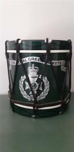 Royal Green Jackets Ice Bucket in Shape of Military Drum Regimental Replicas