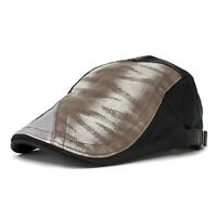 Ivy Patched Roadster Driver Golfer Cabbie Halloween Cosplay Costume Newsboy Hat