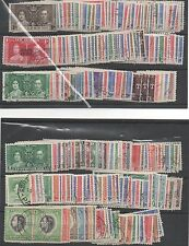 1937 Coronation complete omnibus set 202 fine used stamps - 7% down