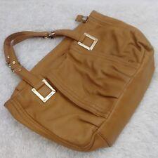 f4e6ab477c POUR LE VICTOIRE Leather Purse Hobo Tan Mustard Pebbled Leather Shoulder Bag