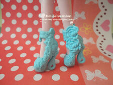 Doll Shoes~Mattel Monster High Ever After High Blue Heel Shoes 1pair #MS-552 NEW