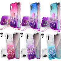 Samsung Galaxy Note 10/10 Plus Liquid Glitter Diamond Bling Phone Case Cover