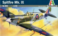 SPITFIRE Mk.IXc /EARLY/ (RAF, FFF/FRENCH AF MARKINGS) #0094 1/72 ITALERI