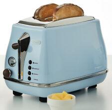 Delonghi CTO2003VAZ Icona Vintage 2 Slice Toaster - Sky Blue