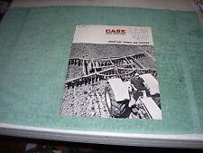 Case Disk Harrows Sales Brochure Dealer 1967 Original A41967D, B, H, SA, M68