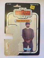Bespin Security Guard ESB 32 Back Vintage Cardback FULL CARD Star Wars LP