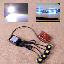 4in1 12V Wireless Hawkeye LED Eagle Eye Strobe Lights Lamp DRL Remote Control