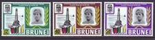 Brunei 1969 SC 153-155 Set MNH Oil