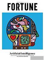 FORTUNE MAGAZINE  FEBRUARY 2020- ARTIFICIAL INTELLIGENCE- MACHINES WILL RESHAPEE