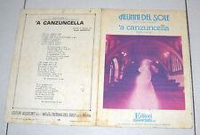 Spartito ALUNNI DEL SOLE 'A canzuncella 1977 A Songbook Spartiti sheet music