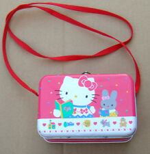 Vintage Hello Kitty by Sanrio Tin Box With Purse Strap 76250-4 * ONE-OF-A-KIND *