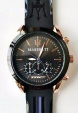 Men's Watch Waterproof MASERATI Stainless Quartz Wrist Watch 🇬🇧 UK SELLER 🇬🇧