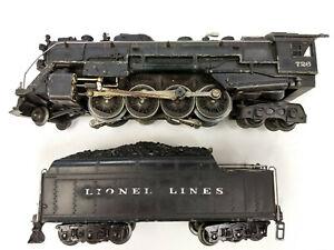 LIONEL Steam Locomotive 726 Whistle Tender 2426W LIONEL LINES
