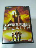 La Amenaza Invisible Stealth - DVD Jamie Foxx DVD Español Ingles - AM