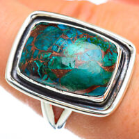 Chrysocolla 925 Sterling Silver Ring Size 8.25 Ana Co Jewelry R44818F