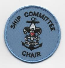 """Sea Scout Ship Committee Chair Position (New Design), 3"""" Round, """"Since1910"""" Back"""