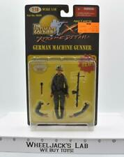 WWII German Machine Gunner The Ultimate Soldier 1:18 2000 MOSC 21st Century Toys
