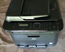Dell 1235cn Multifunction Network Color Laser Printer Scanner Copy 13081 pages