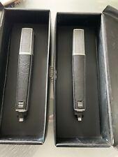 1 Paar SENNHEISER MD-441 N Kleintuchel Dynamische Studio Mikrofone VINTAGE