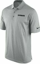 New Nike Dallas Cowboys NFL Football Dri-Fit polo golf shirt men's XXXL 3XL gray