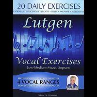 Judy Clark - Lutgen Low-Medium-Mezzo Voice 1 & 2 Combined [New CD]