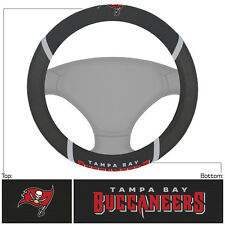 New NFL Tampa Bay Buccaneers Car Truck Embroidered Steering Wheel Cover