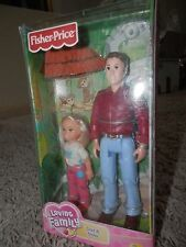 Fisher Price Loving Family Dollhouse new in box DAD & sister set