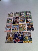 *****Dan Fouts*****  Lot of 28 cards.....15 DIFFERENT / Football