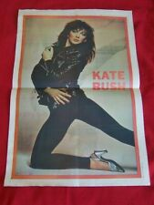 KATE BUSH ORIGINAL 1980 VINTAGE MUSIC PRESS COLOUR POSTER LEWIS LEATHERS ?