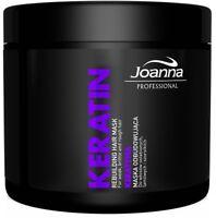 Joanna Professional Rebuilding Mask Keratin Damaged Dry Hair 500g